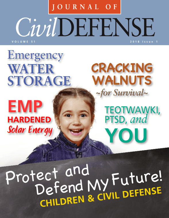 Journal of Civil Defense, 2018 Volume 51 Issue 1, Cover