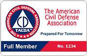TACDA membership card